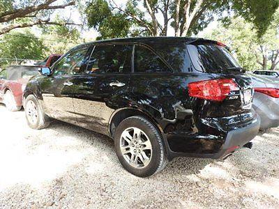 Acura : MDX AWD 4dr AWD 4dr Low Miles SUV Automatic Gasoline 3.7L V6 Cyl BLACK