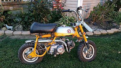 Honda : Other 1969 honda z 50 mini trail 50 monkey bike