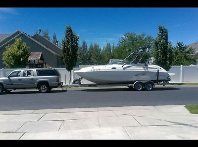 2004 Chaparral 274 Sunesta Deck Boat & Trailer -- Great boat!