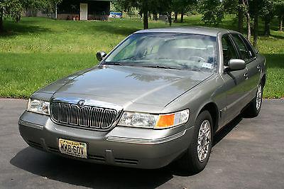 Mercury : Grand Marquis GS 2002 mercury grand marquis crown victoria vg cond original owner 58 000 miles