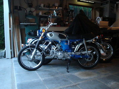 Honda : CL Rare 1969 CL70 Scrambler with low miles!