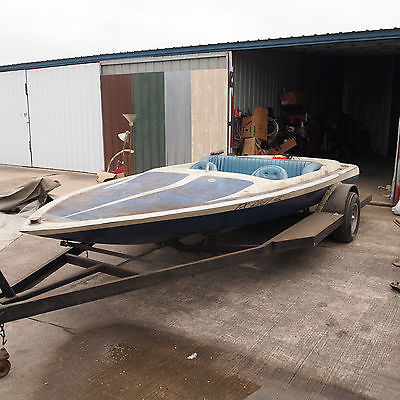 TAHITI JET BOAT 18' -PROJECT BOAT- AS IS- WITH TRAILER