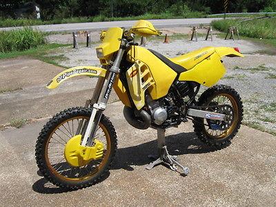 Suzuki : RM 1990 suzuki rmx 250