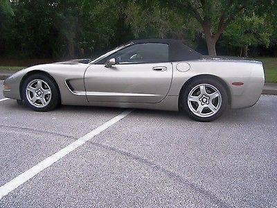 Chevrolet : Corvette roadster 1999 corvette