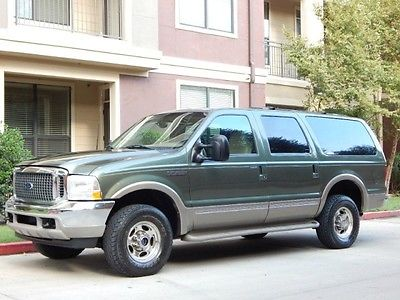 Ford : Excursion FreeShipping Excursion 7.3L Diesel 4X4 Limited! Super Clean! NEW SHOCKS! EXCELLENT CONDITION!