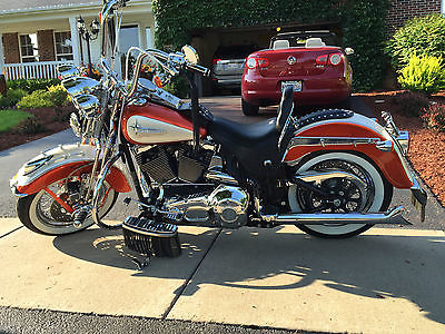 Harley-Davidson : Softail Beautifl condition, custom paint color, custom striping, one of a kind.