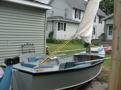 15 ft River Dory Sailboat