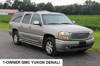 GMC : Yukon Denali 2002 denali used 6 l v 8 16 v automatic awd suv onstar bose 4 x 4 1 owner