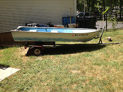 12 Ft. Fishing Boat with 9.5 HP Evinrude