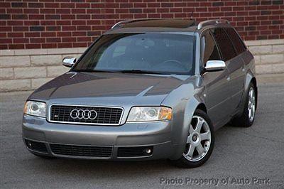 Audi : S6 4dr Wagon Avant quattro AWD 02 s 6 avant wagon 4.2 l v 8 quattro navigation sunroof cd changer heated seats hid