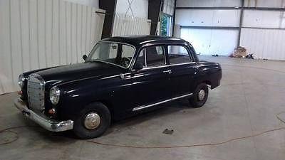 Mercedes-Benz : 200-Series SEDAN RARE 1959 MERCEDES 190D PONTON 200 SERIES CLASSIC BARN FIND ORIGINAL NO RESERVE