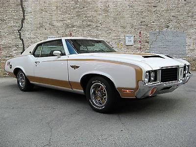 Oldsmobile : 442 Hurst Olds 1972 hurst olds indy pace car 442 cutlass original paint survivor 455 muscle car