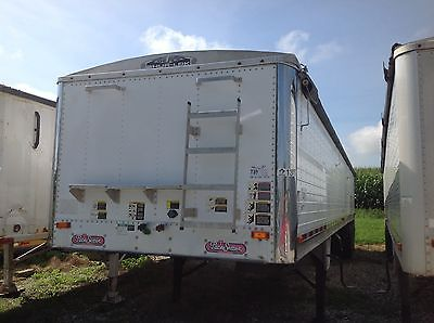 1998 WILSON HOPPER BOTTON GRAIN TRAILER