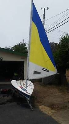1996 Zuma Sailboat + Trailer, similar to Laser