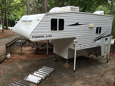 2008 Travel Lite Slide-In Truck Camper for Short Bed Truck