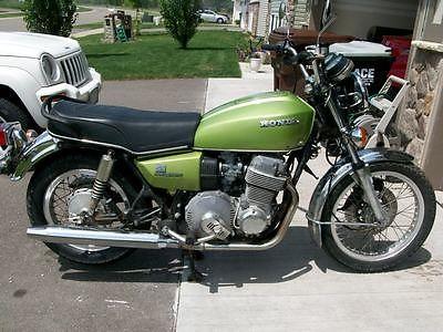 Honda : CB 1976 honda cb 750 a hondamatic automatic rare muscat green