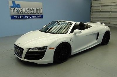 Audi : R8 5.2L V10 STASIS SUPERCHARGED 710HP SPYDER WE FINANCE 2011 R8 V10 STASIS CHALLENGE EXTREME SPYDER 710 HP QUATTRO TEXAS AUTO