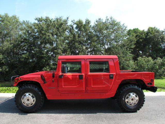 Hummer : H1 4dr Hard Top 1995 hummer h 1 only 52 000 miles