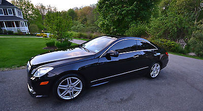 Mercedes-Benz : E-Class Base Coupe 2-Door 2010 mercedes benz e 550 base coupe 2 door 5.5 l