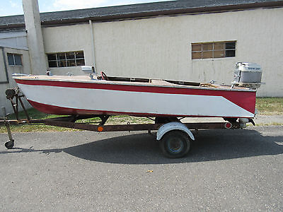 1956 CHRIS CRAFT Kit Boat Dingy Mercury Outboard