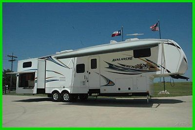 2012 Keystone Avalanche 340TG Bunkhouse with Outdoor Kitchen