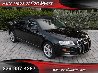 Audi : A6 3.0T quattro Ft Myers FL We Finance & Ship Nationwide Florida Car Heated Seats Leather Bluetooth