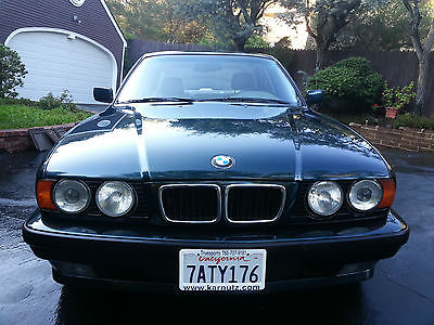 BMW : 5-Series 540i 1995 bmw 540 i sedan only 91 785 miles garage queen