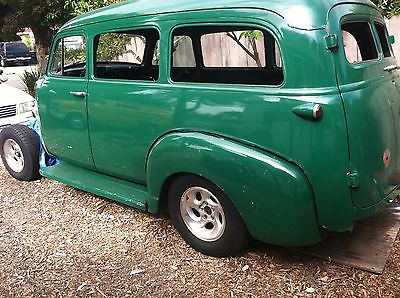 Chevrolet : Other 1951 chevrolet suburban chevy project classic custom hot rod oldie carryall