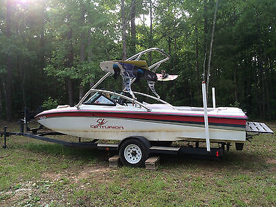 1997 Centurion Wakeboard Boat with Perfect Pass, Tower, 350 V8