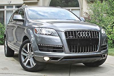 Audi : Q7 Q7 Quattro TDI Diesel 2010 audi q 7 quattro 3.0 l v 6 tdi prestige 20 wheels pano roof turbo diesel