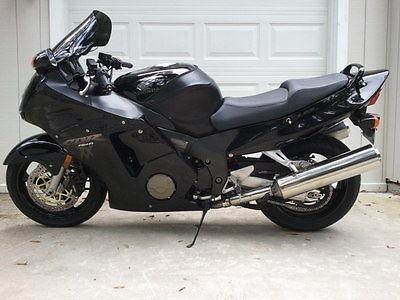 Honda : CBR 2003 cbr 1100 xx super blackbird mint condition only 5300 miles many extras rare