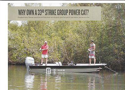 2015 33rd Strike Group 16' Power Catamaran