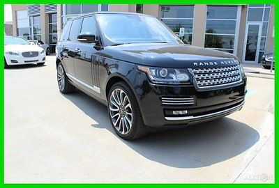Land Rover : Range Rover 5.0L V8 Supercharged Autobiography 2014 5.0 l v 8 supercharged autobiography used 5 l v 8 32 v automatic 4 x 4 suv premium