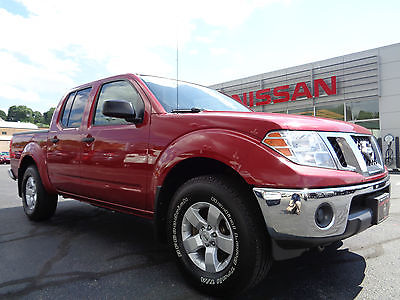 Nissan : Frontier Contact Interner Dept by Calling 814-659-1908 2009 nissan frontier se crew cab 4 x 4 4.0 l v 6 red paint 4 wd clean carfax video