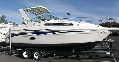 1995 REGAL COMMODORE/VALANTI 256 CABIN CRUISER
