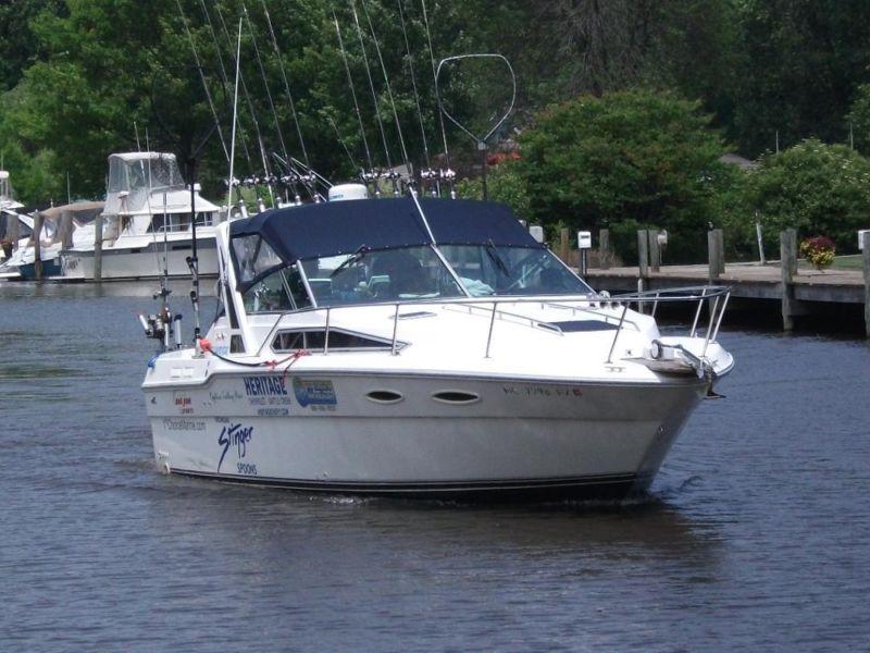 1989 Sea Ray 300 Weekender Fishing Vessel
