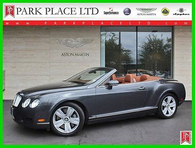 Bentley : Continental GT Convertible 2008 bentley continental gtc convertible turbo 6 l w 12 60 v auto awd