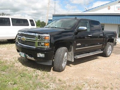 Chevrolet : Silverado 1500 High Country Crew Cab Pickup 4-Door 2014 chevy silverado 1500 high country 4 x 4