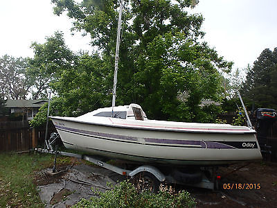 19' Oday Sail Boat