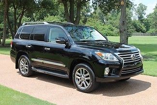 Lexus : LX 570 One Owner Perfect Carfax Mark Levinson Rear Seat Entertainment Michelin Tires