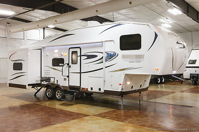 New 2015 8528BHWS Classic Super Lite Bunkhouse 5th Fifth Wheel Camper with Bunks