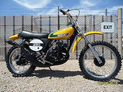 Suzuki : Other 1974 suzuki tm 250 restored