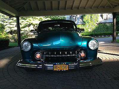 Mercury : Other LEAD SLED 1951 mercury coupe custom restored