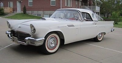 Ford : Thunderbird E Series 1957 ford thunderbird 2 door convertible 5.1 l