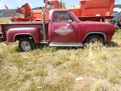 Dodge : Other Pickups adventure 1979 red express 43 000 mile new mexico truck no rust great price