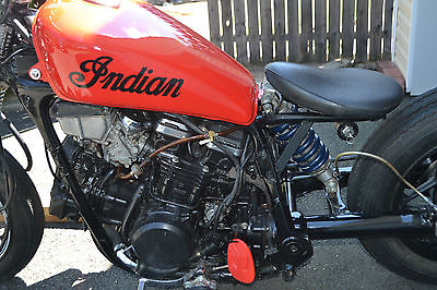 Custom Built Motorcycles : Bobber 1982 honda bobber 750 cc motorcycle custom vintage