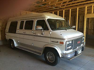 GMC : Vandura 1994 gmc vandura 2500 van wheelchair handicap braun corporation low miles