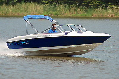 BAYLINER 175 46MPH  *HD PICS*  UNDER 50 HOURS