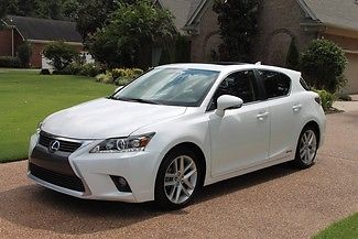 Lexus : CT 200 h Hybrid One Owner Perfect Carfax Michelin Tires  Original MSRP $33435