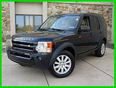 Land Rover : LR3 V8 SE AWD Leather Sunroof 3rd Row Seating 2006 land rover lr 3 awd v 8 se leather sunroof 3 rd row seating